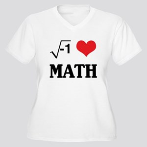 I heart math Plus Size T-Shirt