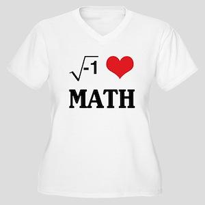 I heart math Plus Size T-Shirt