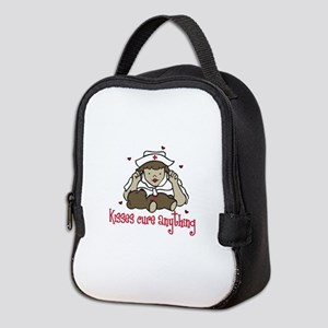 Kisses Cure Anything Neoprene Lunch Bag