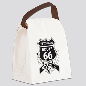 Historical Route 66 Missouri Canvas Lunch Bag