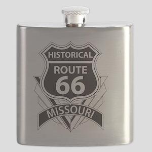 Historical Route 66 Missouri Flask