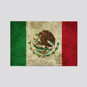 Bandera de México Rectangle Magnet