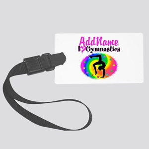 GYMNAST QUEEN Large Luggage Tag