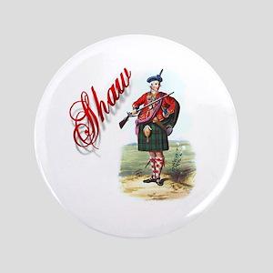 """Clan Shaw 3.5"""" Button"""