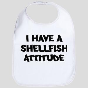 SHELLFISH attitude Bib