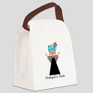 Portugal is fado Canvas Lunch Bag