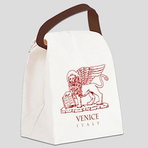 Venetian Lion Canvas Lunch Bag