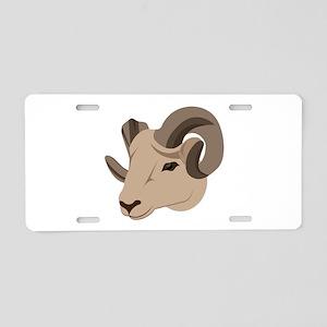 Ram Aluminum License Plate