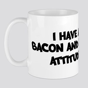 BACON AND EGGS attitude Mug