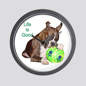 Life is Good Wall Clock