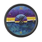 In Limbo Fandango Large Wall Clock