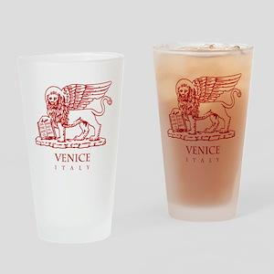 Venetian Lion Drinking Glass