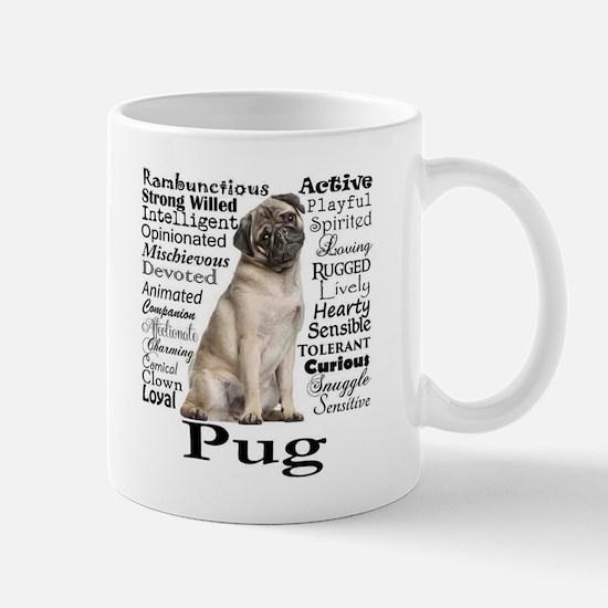 Pug Traits Mugs
