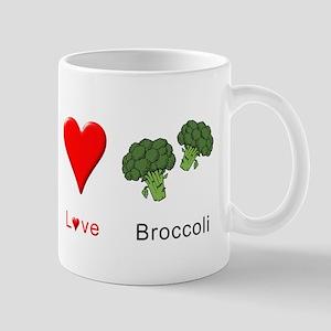 Peace Love Broccoli Mug