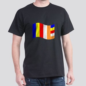 Waving Buddhist Flag T-Shirt