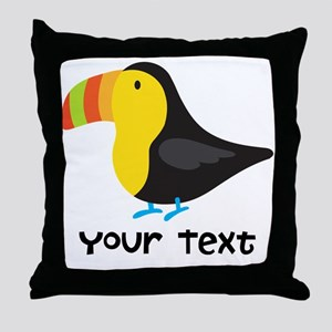 Toucan Bird Throw Pillow