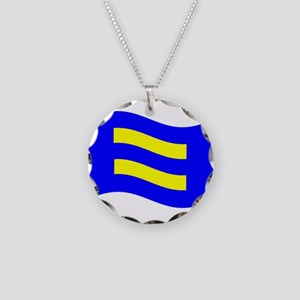 Waving Human Rights Equality Flag Necklace