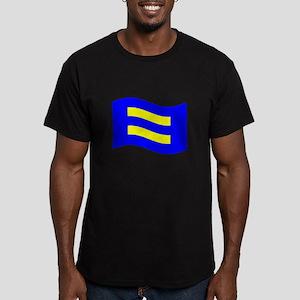 Waving Human Rights Equality Flag T-Shirt