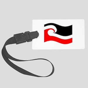 Waving Maori Flag Luggage Tag