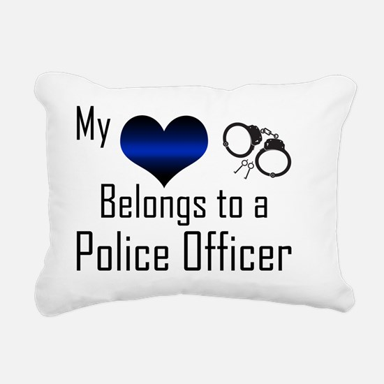 My Heart Belongs to a Po Rectangular Canvas Pillow