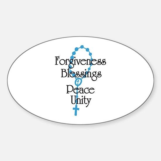 Forgiveness Decal