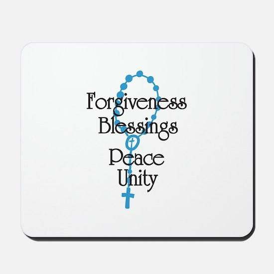 Forgiveness Mousepad