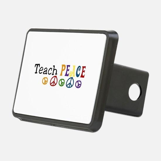 Teach Peace Hitch Cover