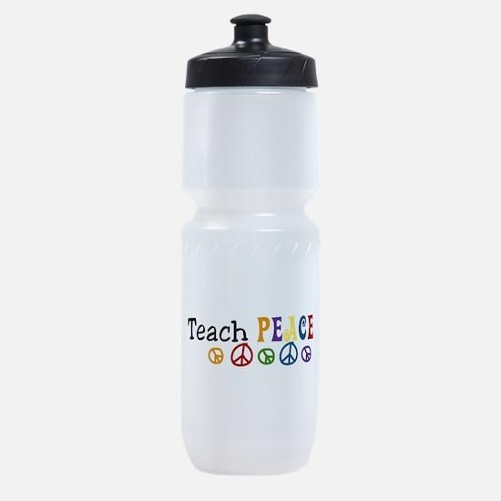 Teach Peace Sports Bottle