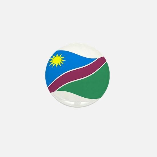 Waving Namibia Flag Mini Button