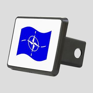 Waving Nato Flag Hitch Cover