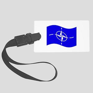 Waving Nato Flag Luggage Tag