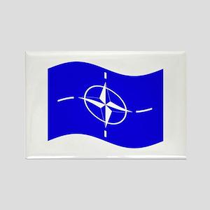 Waving Nato Flag Magnets