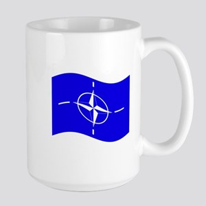 Waving Nato Flag Mugs