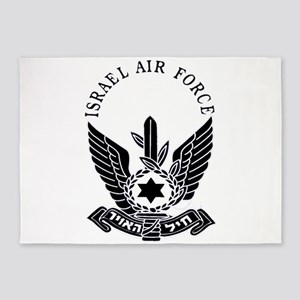 IAF Black 5'x7'Area Rug
