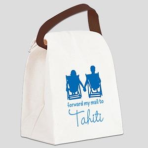 Tahiti Canvas Lunch Bag