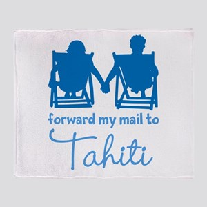 Tahiti Throw Blanket