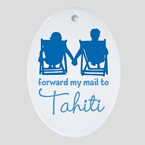 Tahiti Ornament (Oval)