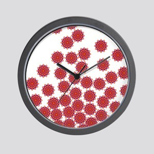 Flower Chain Wall Clock
