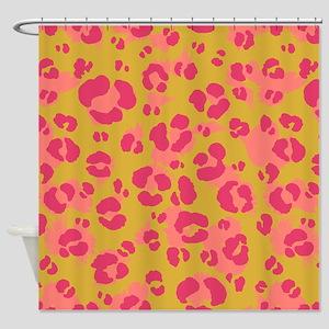 Leopard Print #4, Shower Curtain
