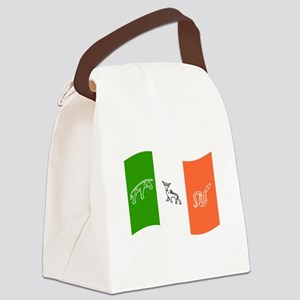 Waving Pictish Ireland Flag Canvas Lunch Bag