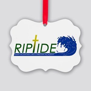 Riptide Picture Ornament
