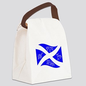 Waving Pictish Scotland Flag #2 Canvas Lunch Bag