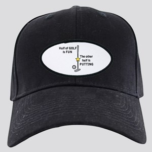 Half of Golf Baseball Hat