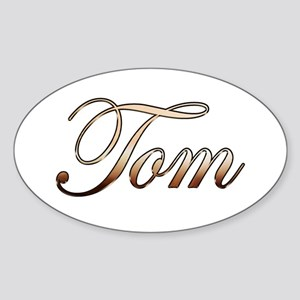 Tom Sticker (Oval)