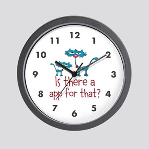 Is There A app for That? Wall Clock