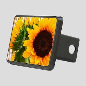 Sunflower III Rectangular Hitch Cover