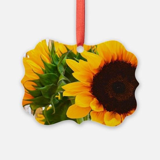 Sunflower III Ornament