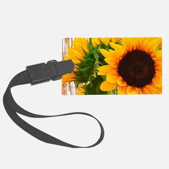 Sunflower III Luggage Tag