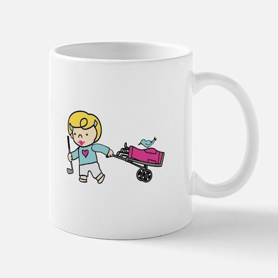 Golfer Girl Mugs