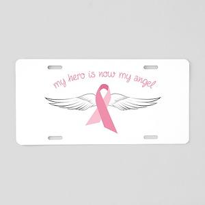 My Angel Aluminum License Plate